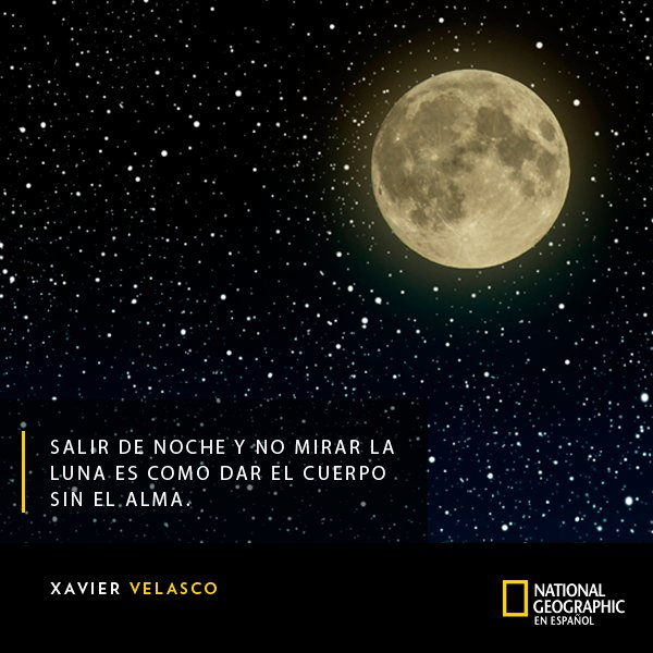 El 20 de julio de 1969 el hombre pisó la Luna por primera vez. Nosotros para celebrarlo les compartimos esta bella reflexión. #Buenviernes Foto
