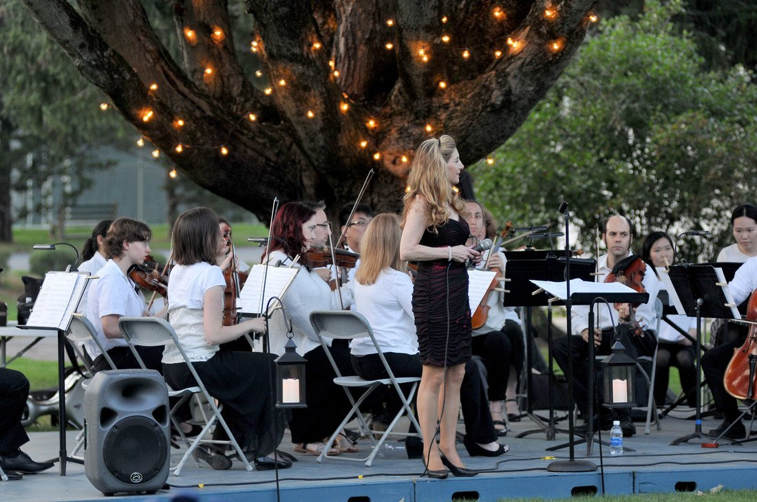 We're looking forward to seeing everyone tonight at 8 p.m. for Symphony Under the Stars in the President's Garden. Don't forget to bring a blanket or lawn chair: https://t.co/TKBss1EkMf https://t.co/kW9TWU0YEm