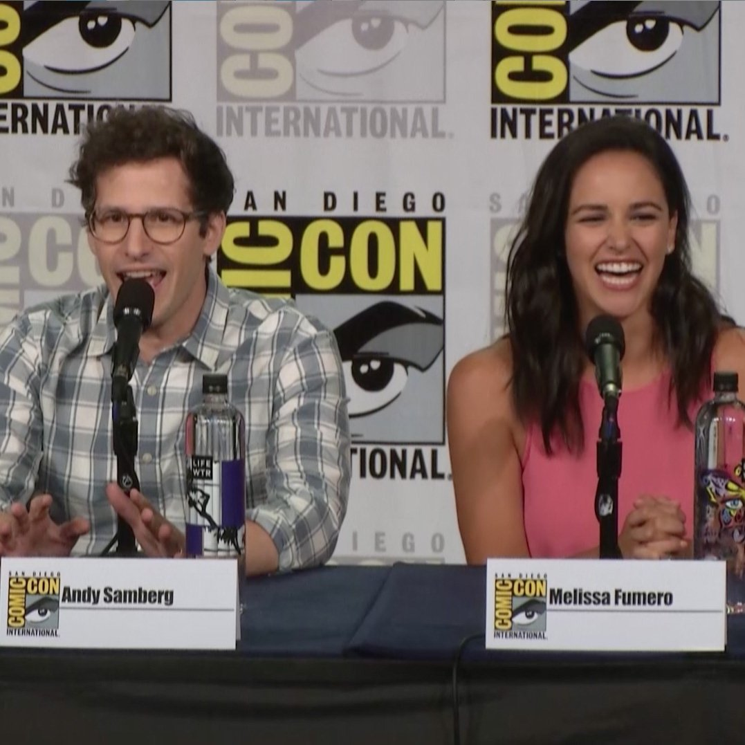 Best cast. Best fans. Here are some highlights from our #SDCC panel! #Brooklyn99