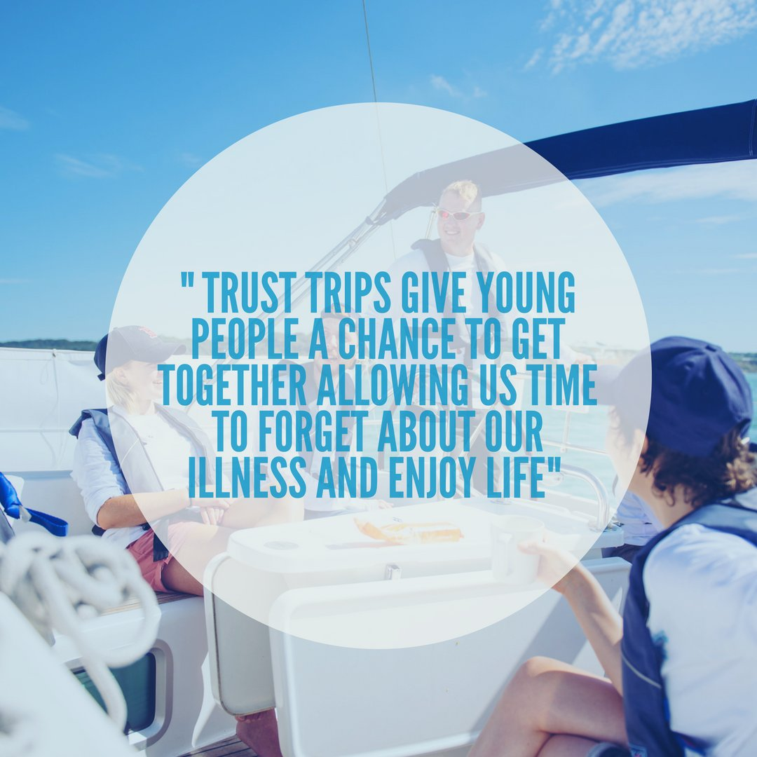 The Trust fills a unique role, focusing on young people who are in post treatment from cancer an area that is often overlooked. For many people this is the most difficult part and reason why Trust trips are vital in giving young people the confidence to rebuild their lives.