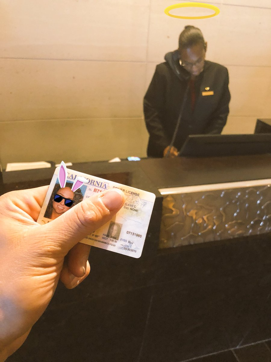 Hey @jcdom I found your ID & returned to the 's p@MO_NEWYORKrestige front desk staff!!!  Cool pic too by the way!!! They always make me take my sunglasses off 😎!!!