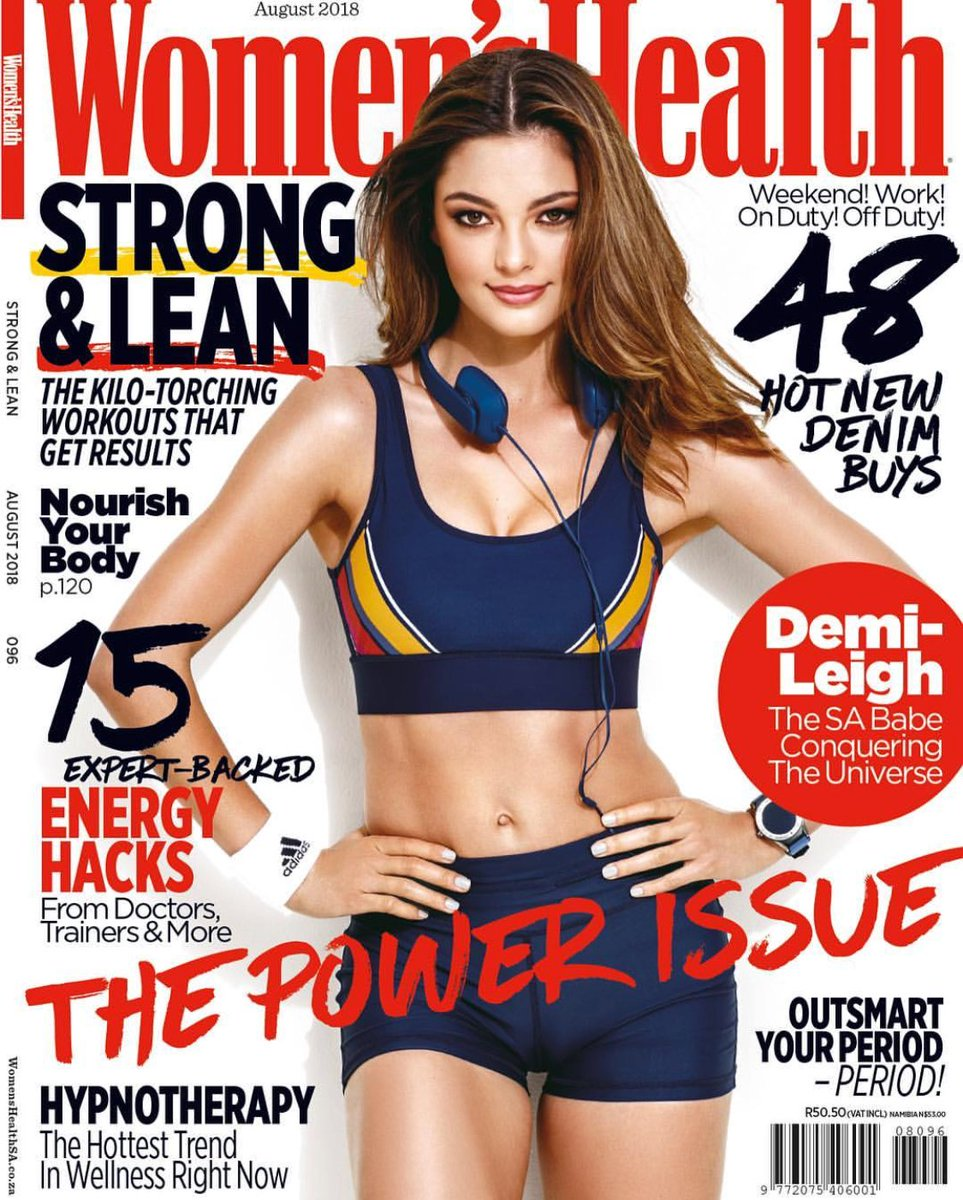 """""""I will never tolerate being objectified as a woman. I feel that all women should be treated with the respect and dignity that they deserve."""" - #MissUniverse @DemiLeighNP ⠀ ... August issue on sale Monday ⠀ Repost: #womenshealthmagsa"""