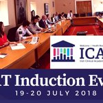 Delighted to welcome our new #ICAT Fellows at our Induction event in NUI. Great talks this morning about research integrity and developing online research profiles and lots of advice from our Year 2 Fellows!