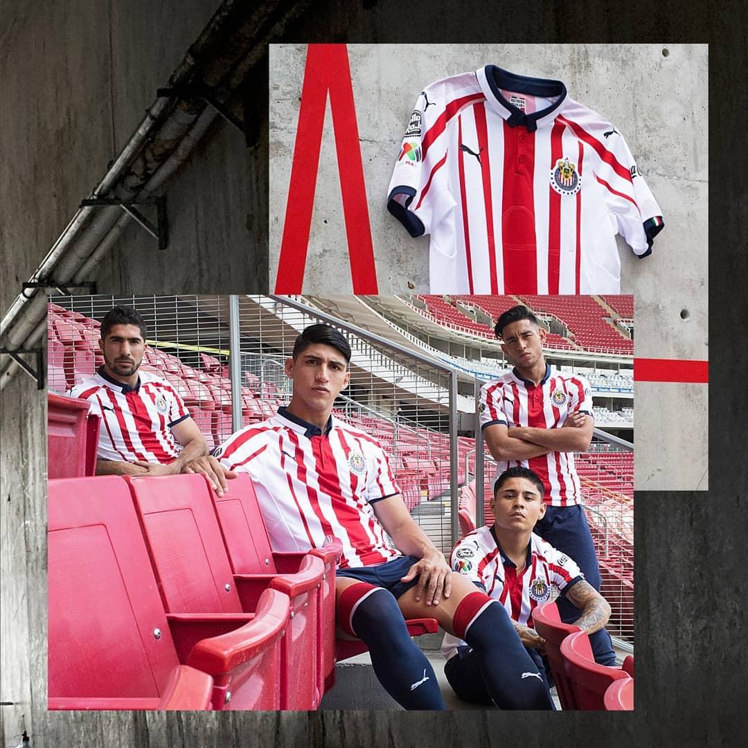 Shirt Alert  Puma have released the new Chivas Guadalajara 2018-2019 kits  What do you think pic.twitter.com Qr7pcHFzCe 9bb44a29d
