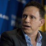 Image for the Tweet beginning: Peter Thiel is considering strategies