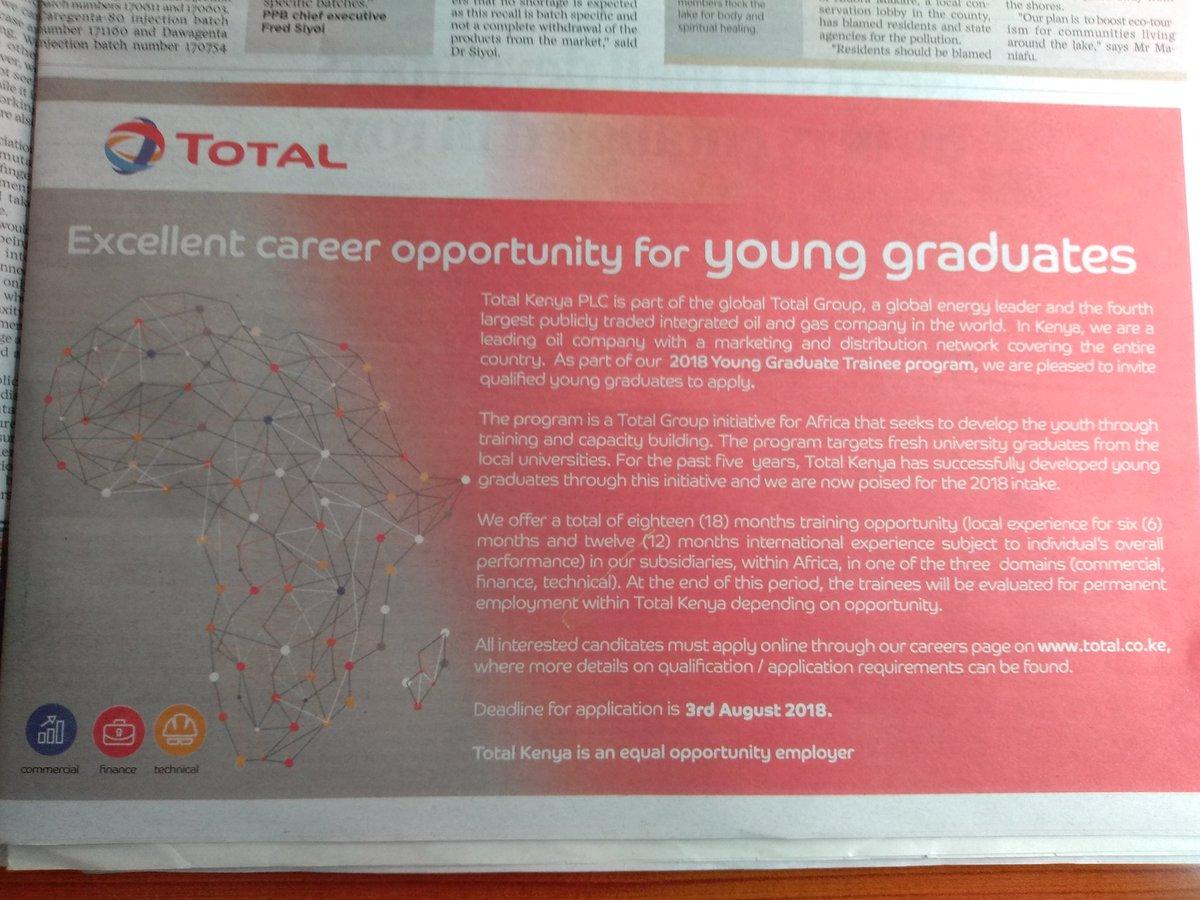 d5edca1944 Total Kenya Looking For Fresh Graduates – Youth Village Kenya