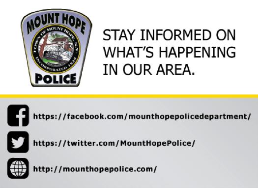 MountHopePolice photo