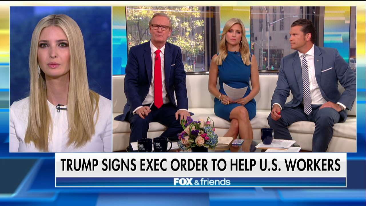 .@IvankaTrump: '@POTUS signed an executive order establishing the National Council for the American Worker.' https://t.co/4nCRVniDTF