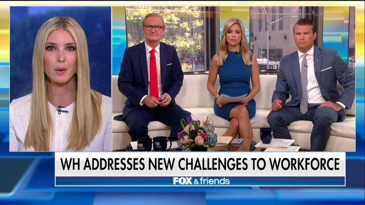.@IvankaTrump: '3.8 million jobs were committed to yesterday by the private sector with no government funding.'