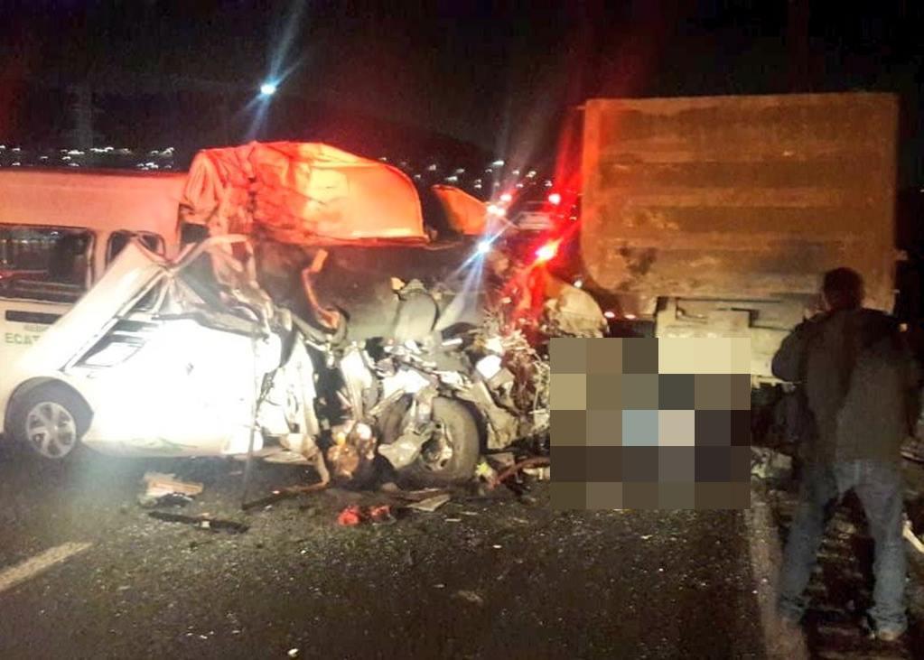 Accidente en la México-Pachuca deja 12 muertos; piden evitar la zona  https://t.co/mNc94Fb9PE