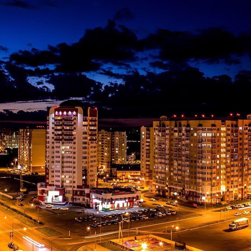 ночной город железнодорожный фото древнейших времен