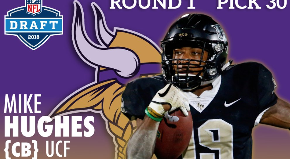 Michael Hughes, crushed it at the Jacksonville, NC NUC Sports Football Combine in High School and then went on to dominate at UCF and Now was a first round pick to the Vikings #nucbloodline