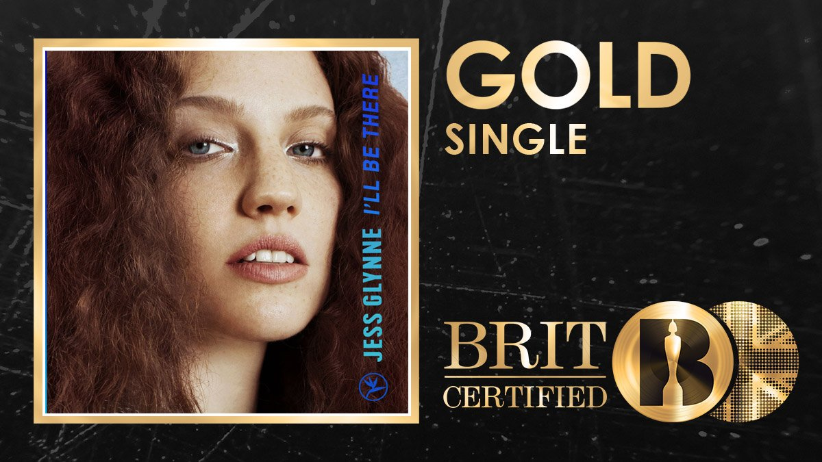 🙌 Big congrats to @JessGlynne! Ill Be There has just been #BRITcertified Gold! 🇬🇧📀