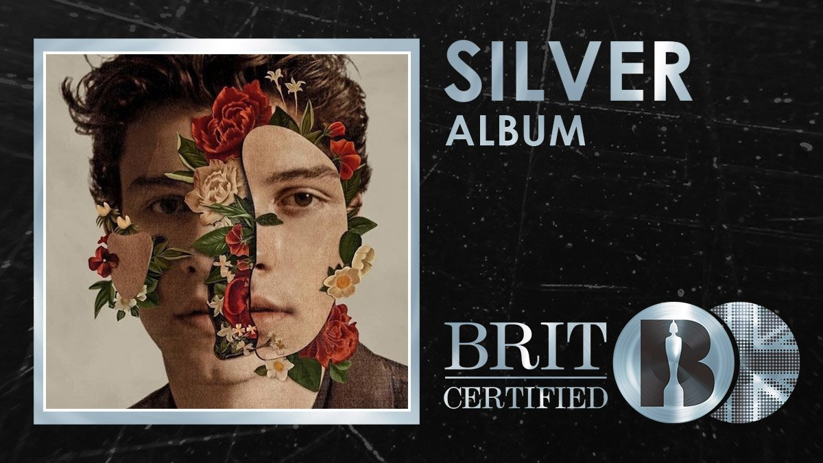 🎸@ShawnMendes third self-titled studio album has just been #BRITcertified Silver! 🇬🇧💿