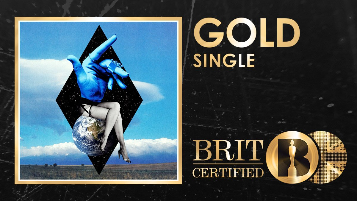They might do it Solo but they are so much better together! @cleanbandit and @ddlovatos team up is now #BRITcertified Gold! 🇬🇧📀