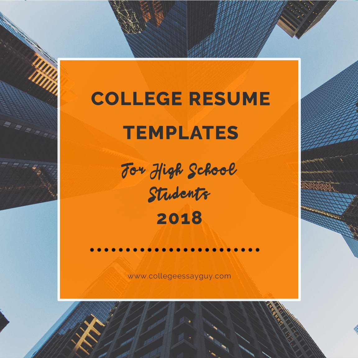 How do you sum up your life's work on a piece of paper? First things first. Remember that you are not your college resume. You are a human being, not a human doing. If you don't have a rockstar resume, that's okay. Work with what you've got. goo.gl/1AUFwL