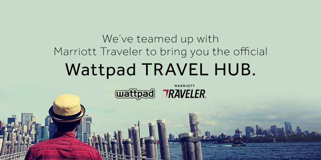 Calling all globe-trotters, dreamers, and big thinkers. We've teamed up with @MTraveler to launch the official Wattpad Travel hub! 🗺 🌍 Take a trip on over. 😎 https://t.co/B4OILHpl91