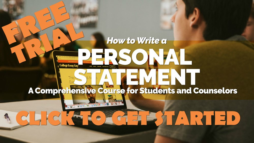 Curious what my online courses are like? Afraid to make the commitment? No worries. Check out my personal statement course for FREE! goo.gl/qtxCq4