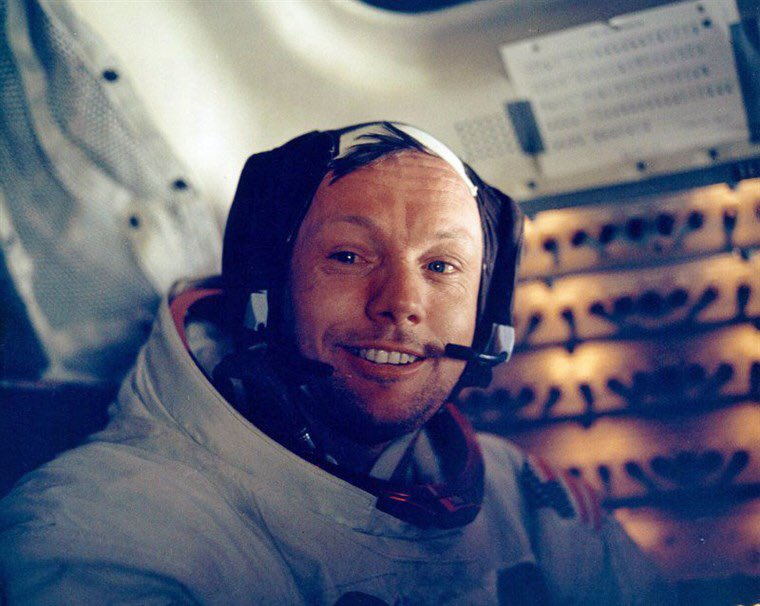 On this day in 1969 Neil Armstrong became the first human to walk on the moon. #Apollo11