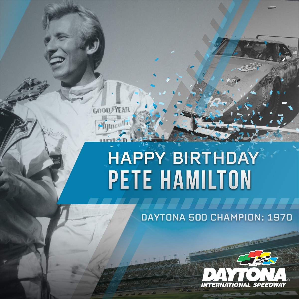 Happy Birthday to the 1970 #DAYTONA500 Champion, the late Pete Hamilton.