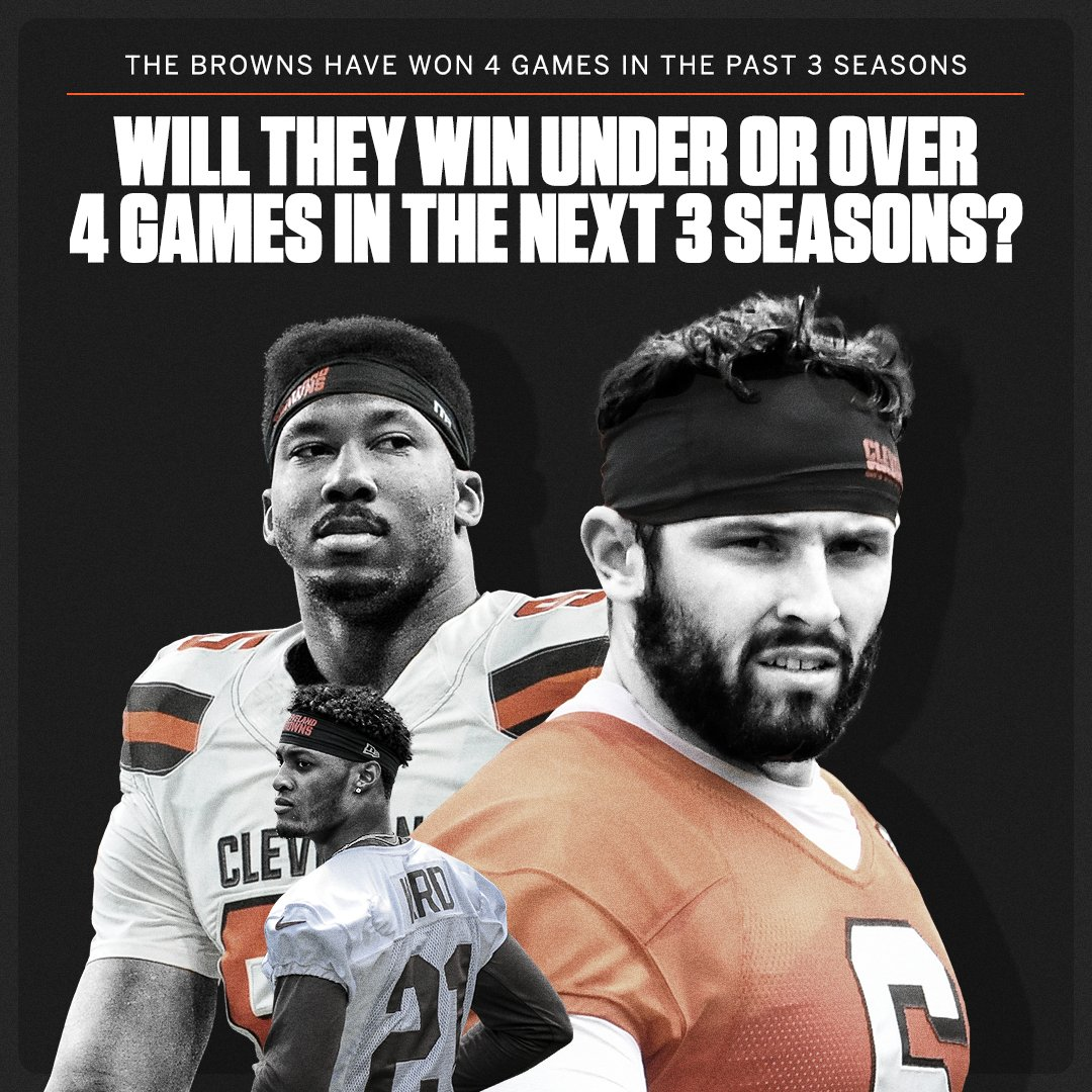 Will the Browns and their young talent break through? https://t.co/yNDg5f4cMW