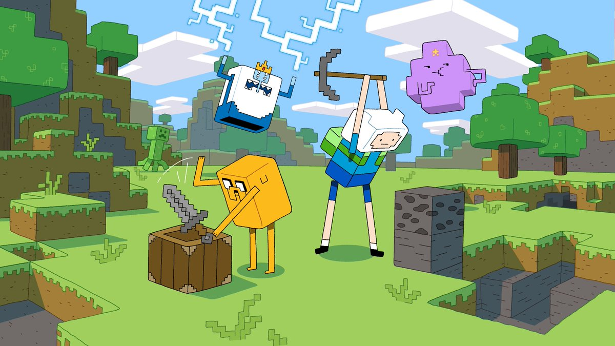 Minecraft On Twitter The Minecraft Adventure Time Episode Is Out
