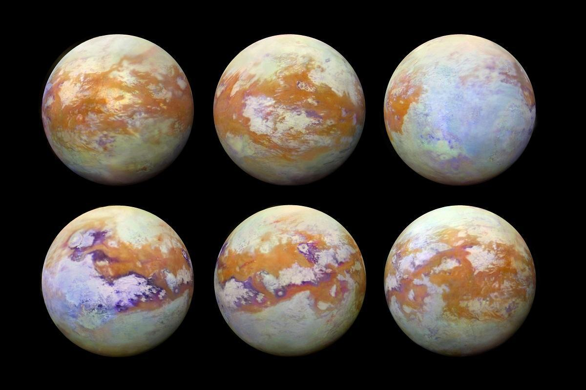 Spectacular new photos of Titan show Saturn's moon like never before https://t.co/w0Rjey0fgN