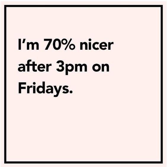 Funny Friday Quotes Humor: Friday's Mood ☺️#friyay #almosthometime #yay