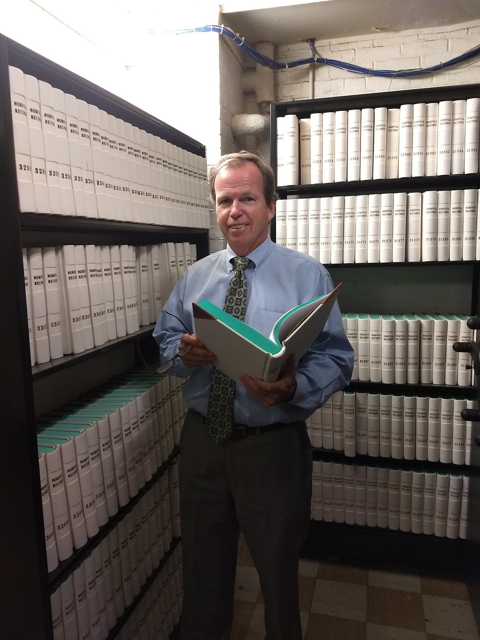 Register O'Donnell Announces 36,000th Book Printed at Registry