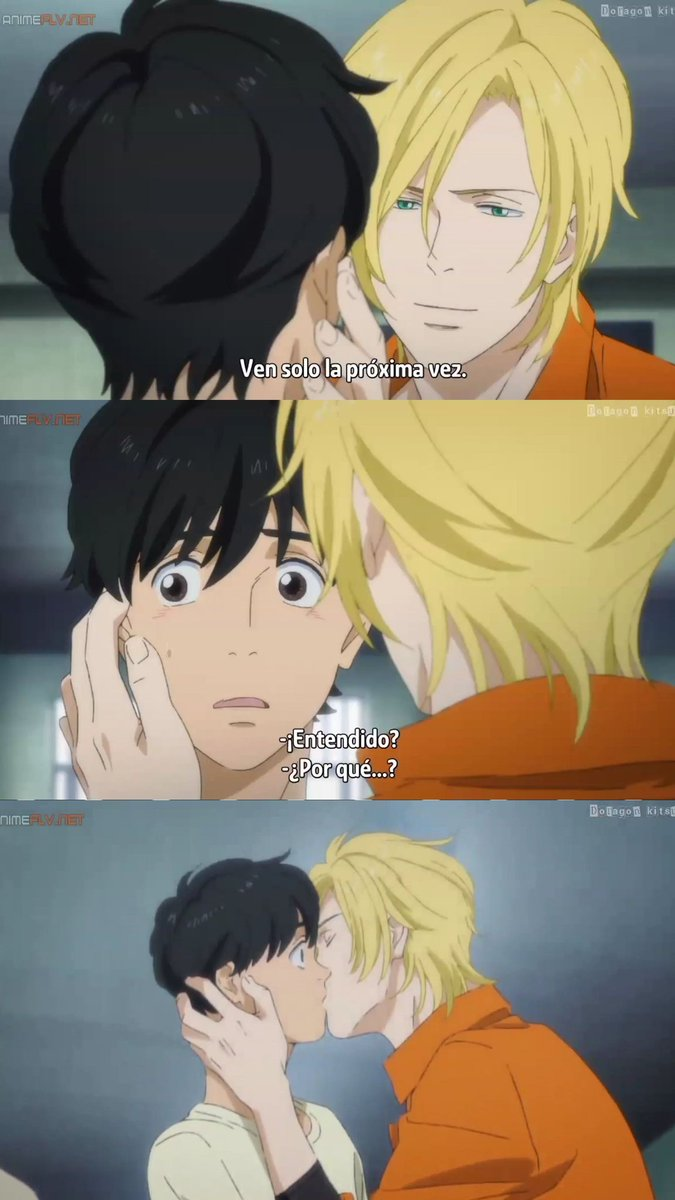 Shadow No Paths Are Bound On Twitter Kiss Scene Manga Anime