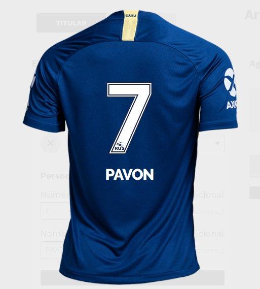 Así sería la tipografía de la nueva camiseta de #Boca. Se mantiene la de la temporada pasada. https://t.co/GnHdqKeqlk