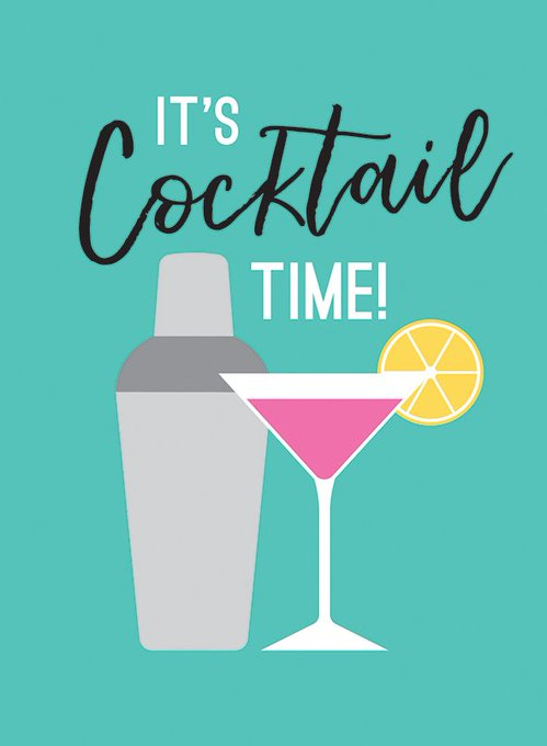 Get that #FridayFeeling with our new book, bursting with cocktail recipes and treat yourself to a cocktail this weekend 🍸🍹🍸 Photo