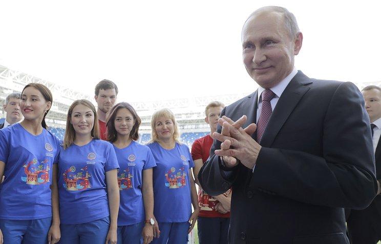 #Russia may bid for hosting Summer Olympic Games, #Putin says https://t.co/EPrjefMCDv © Mikhail Metzel/TASS