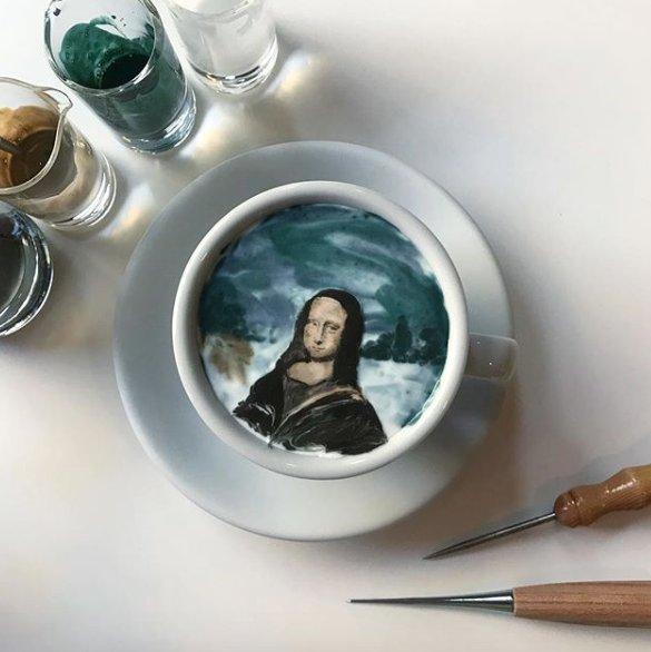 Transformer son café en oeuvre d'art, c'est possible, et @leekangbin91 (sur Instagram) le fait très (très) bien. Vous avez toutes les référ…