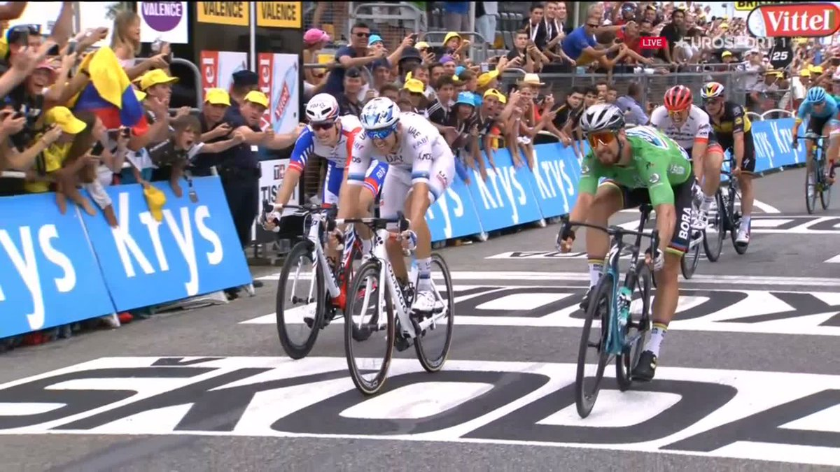 Tour de France 2018 etappe 13: Peter Sagan wint