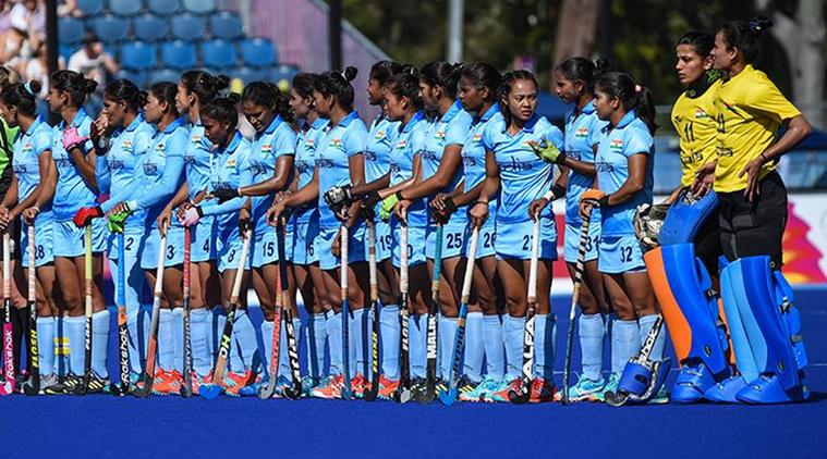 #India to take on hosts England in opening match of Women's Hockey World Cup in #London today.