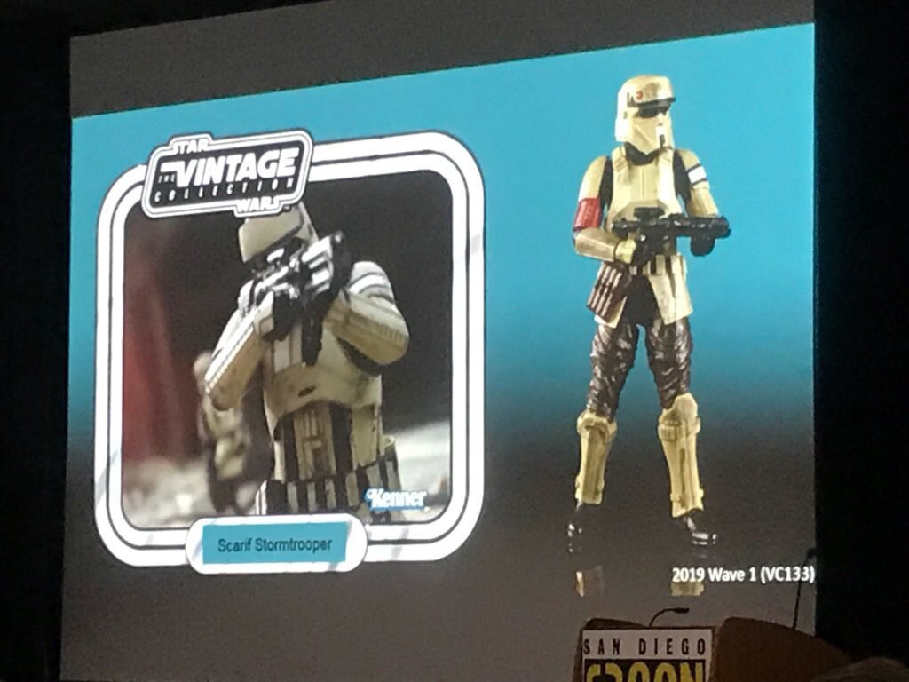 "Star Wars The Vintage Collection 3.75/"" Wave 1 - Scariff Stormtrooper 2019"