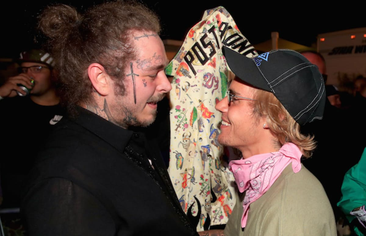 Post Malone would play Justin Bieber and Hailey Baldwins wedding: F*ck yeah, for free. trib.al/YIrN8L6