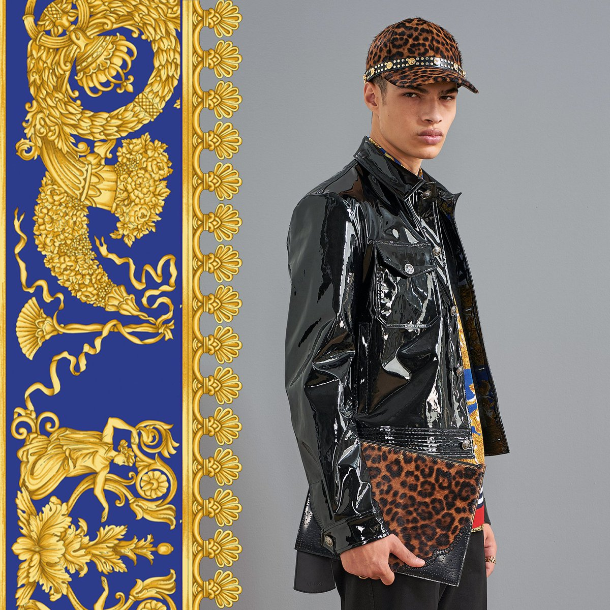 The wildest must-haves of the season.  Find the new #VersacePreFall18 collection for him now: https://t.co/NoSI7cjSmf