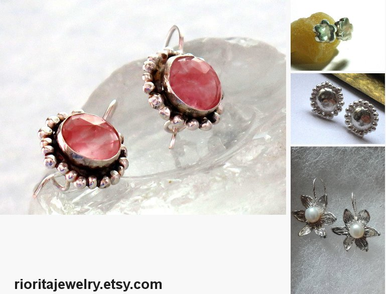 Cherry Quartz Earrings, Silver Pink Drops, Round #jewelry #earrings @EtsyMktgTool https://etsy.me/2Lm5ykr  #cherryquartz #pinkquartzearrings pic.twitter.com/InAmk1T2dt