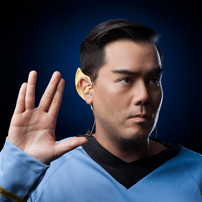Rock out with your Spock out. Star Trek Wireless Vulcan Earbuds: https://t.co/mS4enQMwtq https://t.co/2GBGwKaOMu