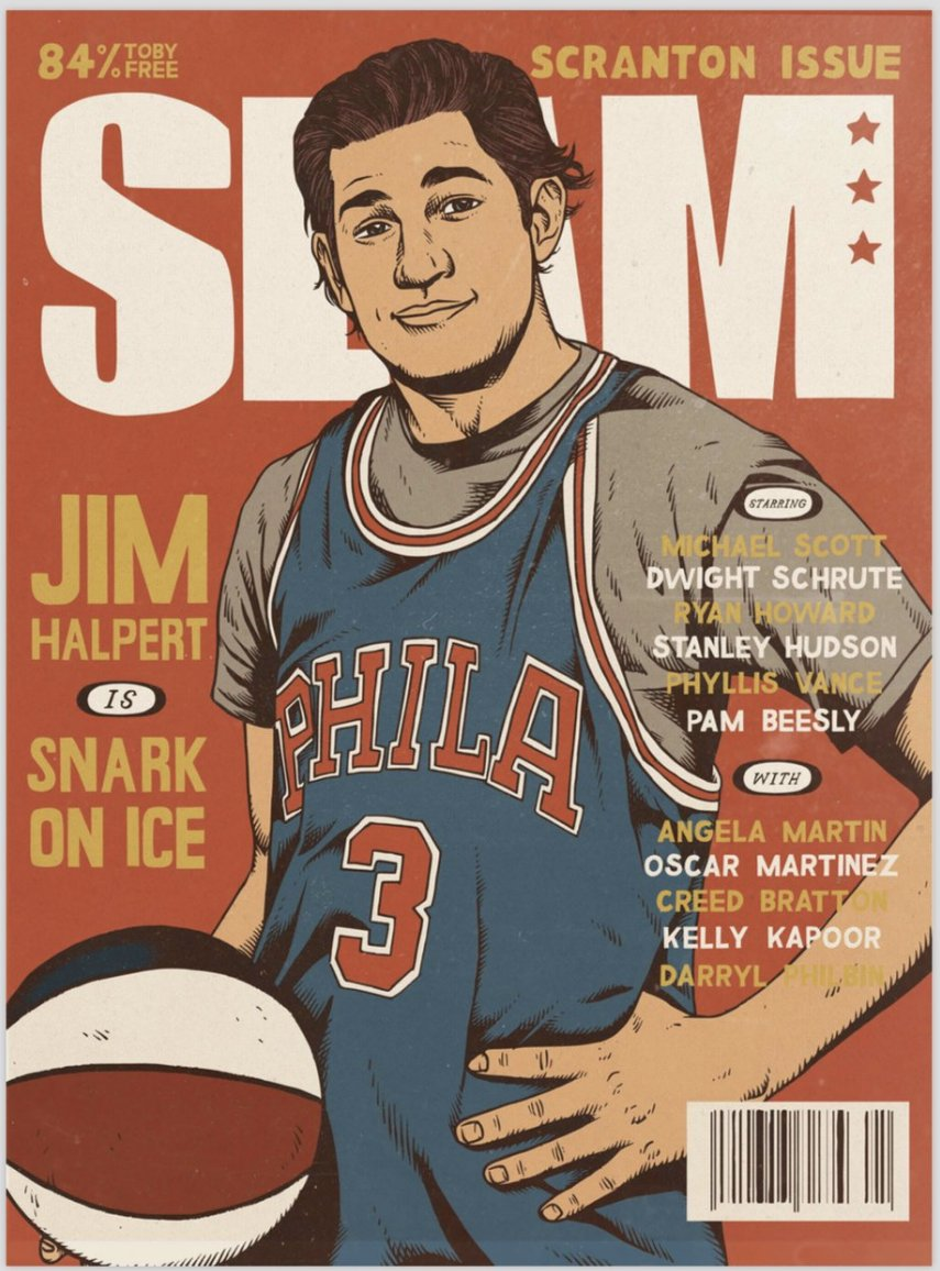.@SheaSerrano's digital project about The Office is available for pre-order now: https://t.co/KzJzJbMW1Z  ... LOOK AT THIS SLAM COVER 👀