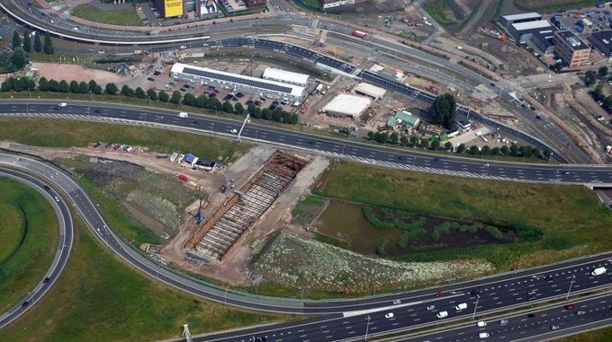 Afsluiting A4 bij knooppunt Ypenburg https://t.co/ef5bnVpU5n https://t.co/DVkWWChApl