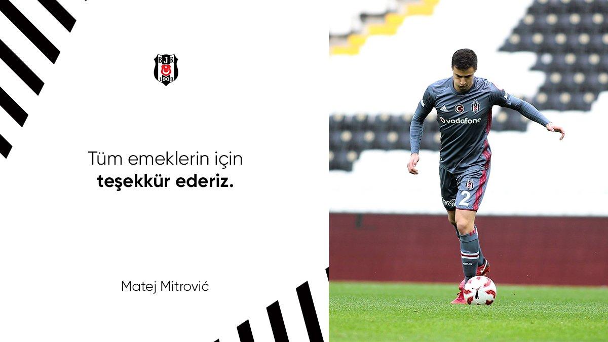 Tüm Emeklerin için Teşekkürler Matej Mitrovic https://t.co/7avni7u2x4 #Beşiktaş https://t.co/KDy3uJksie