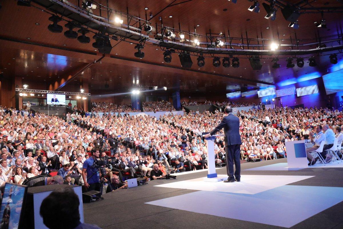 La reciente Historia de España es la de un éxito, no lo olvidéis nunca. Nos hemos situado en el grupo de cabeza en muchas cosas. Hay que decirlo: somos una gran nación. España es mejorable, pero digamos la verdad completa: jamás ha existido una España mejor. #19CongresoPP