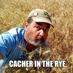 Image for the Tweet beginning: Geocacher...rye... it just makes perfect