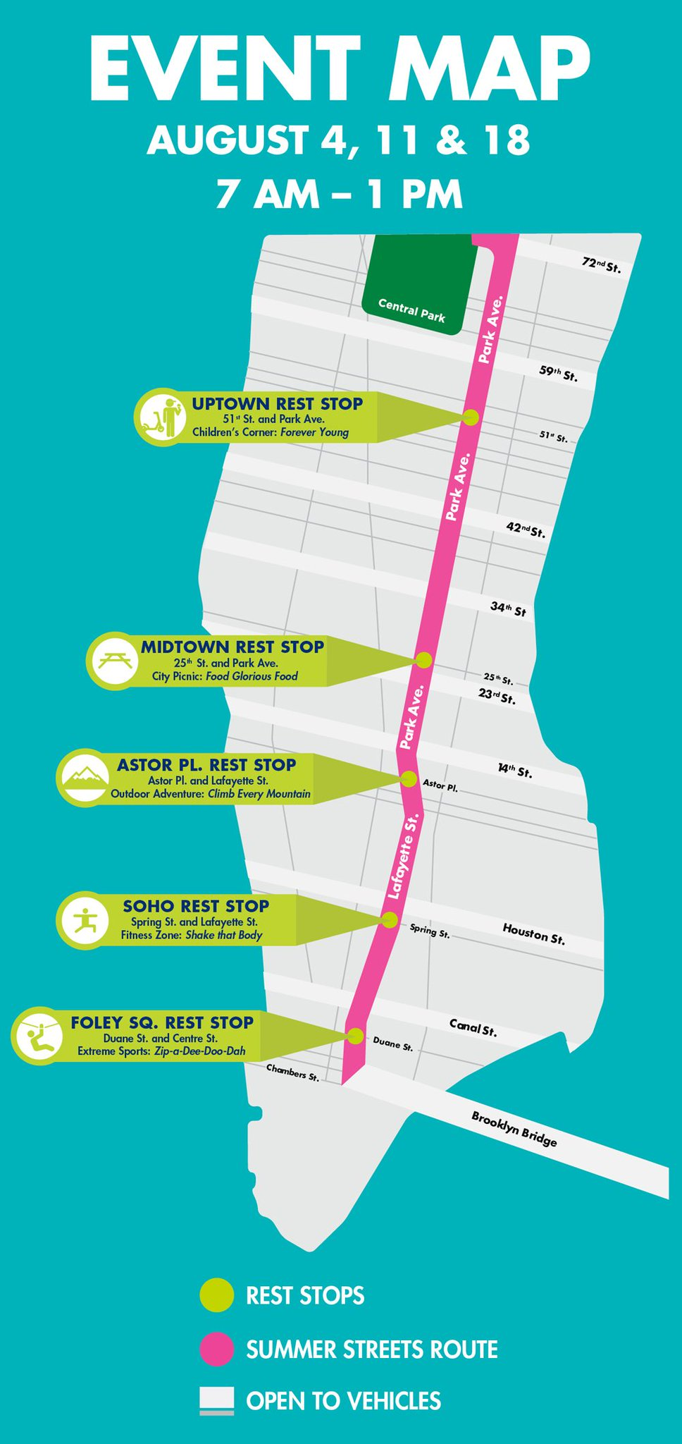 City Streets NYC Map