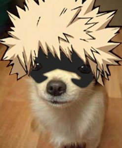 (Oh and while gone, here's a barkugo my friend made.)