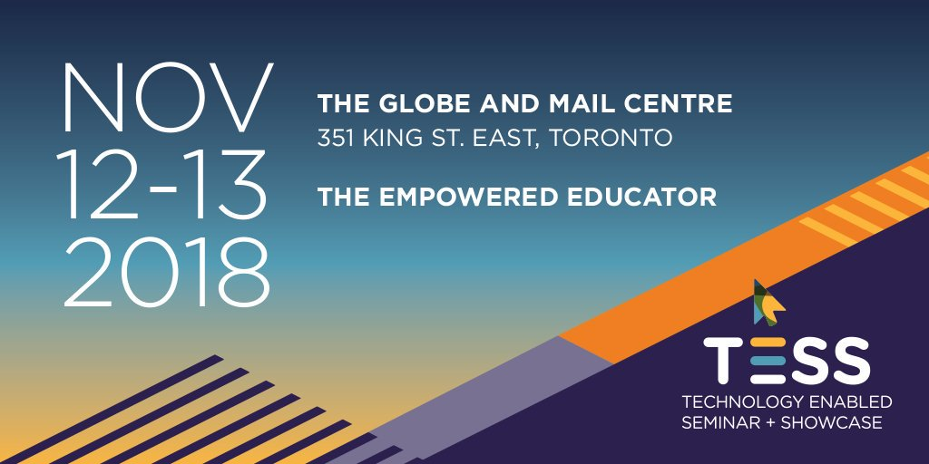 test Twitter Media - Save the Date: This November, we'll be hosting our fourth annual Technology Enabled Seminar & Showcase at Toronto's Globe and Mail Centre. Interested in attending? Learn more about the event here: https://t.co/sQUBdrJv0n #TESS18 https://t.co/BdDihj02xE