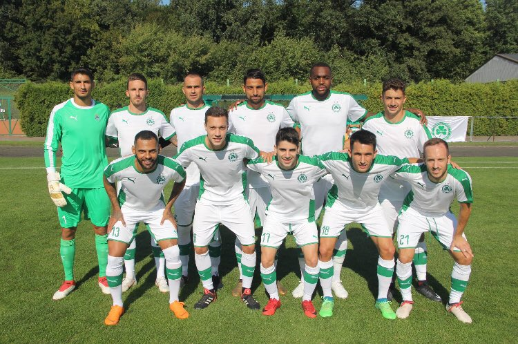 Contento por debutar con victoria! Felicidades Cris y Mike por vuestro primer gol con nosotros! Vamos equipo! Happy for the victory in our first pre-season game! Congratulations @cris_montes10 and @Gaffoor5 for your first goal! Well done team! #omonoia #greenfamily ☘️⚽️